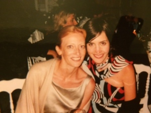 Caro and I at her wedding in 2001