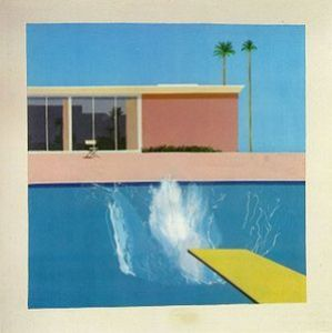 """A Bigger Splash"" by David Hockney, 1967"