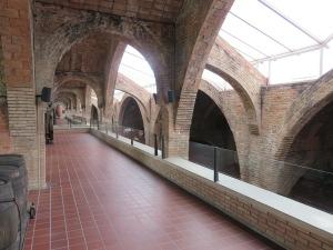 Cellar building Codorniu Winery