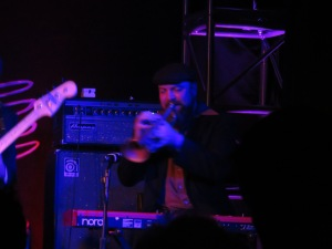 Cory Gray makes that horn sing. Image copyright Caroline Barron.