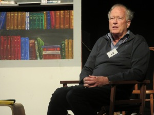 Emeritus Professor Michael Corballis at Waiheke Book Festival 2014