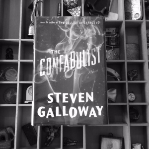 'The Confabulist' by Steven Galloway. Riverhead Book, NY, 2014. Image copyright Caroline Barron 2014