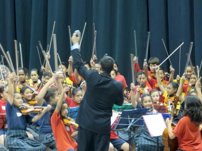 Dr. Joe Harrop conducting