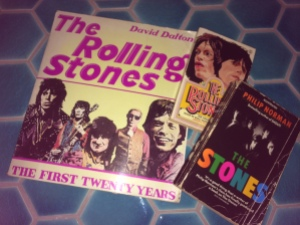 Books on the Stones from my music collection
