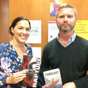 Sarah Costelloe and Phillip Simpson swap their books