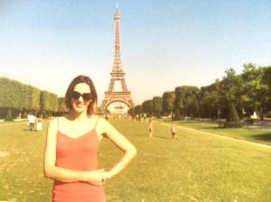 Moi in Paris, July 2015