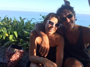 Kath and Hanz in Bali. Image copyright Katharine Broughton 2015.