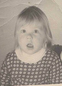 One-year-old Kristin's passport photo. Kristin's love of travelling began early in life, as her father was in the US Foreign Service. Image copyright Kristin Duncombe