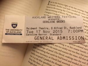 Geraldine Brooks ticket